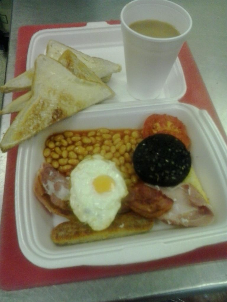 Full English Breakfast from Top Nosh Congleton
