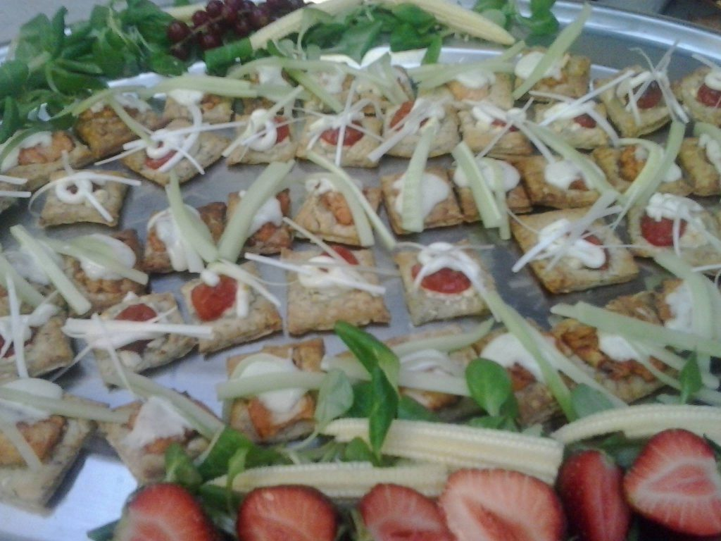 Outside Catering Buffet from Top Nosh Congleton